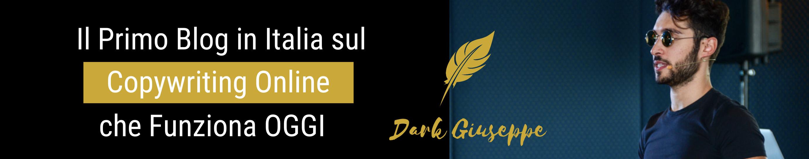 Dark Giuseppe Copywriting Online